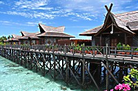 Mabul Water Bungalows