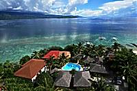 Blick auf das Magic Island Resort aus der Vogelperspektive