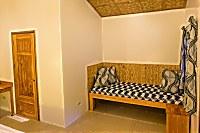 Tagesbett im Bungalow
