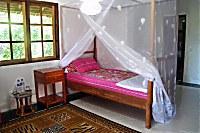 Zimmer in der Mangga Lodge