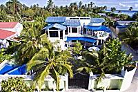 Manta Lodge aus der Vogelperspektive
