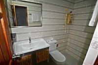 Blick in ein Badezimmer