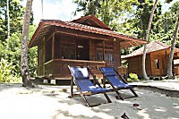 Bungalow des Murex Bangka Resort