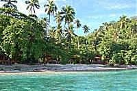 Strand des Murex Bangka Resort