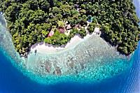 Murex Bangka Resort aus der Luft