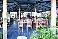Restaurant im NAD Lembeh Resort