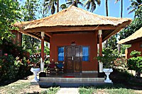 Steinbungalow im North Bali Beach Cottages