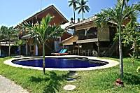 Swimmingpool im North Bali Beach Cottages