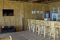 rustikale Bar des Pintuyan Dive Resort