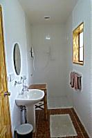 Badezimmer in einem Bungalow