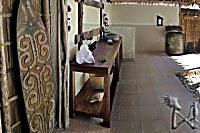 alle Bungalows verfügen über geräumige Badezimmer