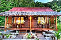Bungalow mit 2 Deluxe-Zimmer in Raja Ampat Dive Lodge