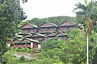 Komplette Anlage des Rose Garden Resort