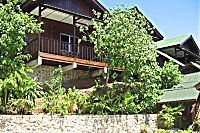 Rose Garden Resort in Hanglage