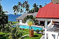 das Sea Dream Resort liegt in einem tropischen Garten