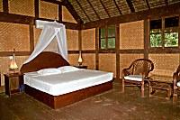 Bungalow des Selayar Dive Resort von innen