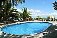 Swimmingpool des Sipadan Mabul Resort