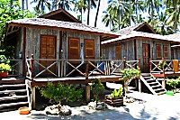 Bungalows des Sipadan Mabul Resort