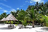 Strand des Sipadan Mabul Resort