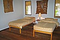 Schlafzimmer Sorido Bay Resort Bungalow