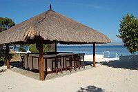 Beach Bar im Talima Beach Resort