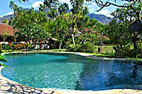 Swimmingpool im Taman Sari Bali Cottages