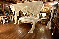 Schlafzimmer im Suite-Bungalow