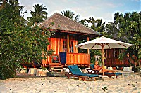 Bungalow des Wakatobi Dive Resort