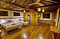 Bungalow des Walindi Plantation Resort