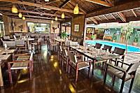 Freiluft-Restaurant