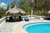 Swimmingpool des Whispering Palms Island Resort