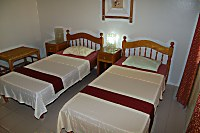 Deluxe-Zimmer des Whispering Palms Island Resort